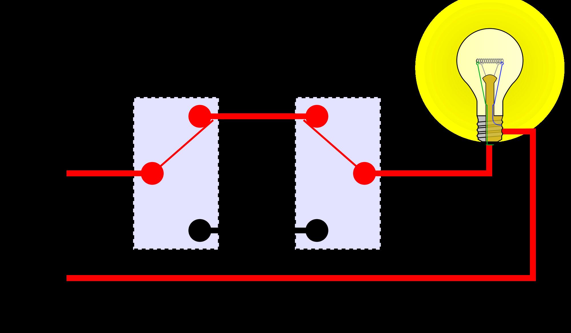 3 Way Switch Work - Wiring Diagram